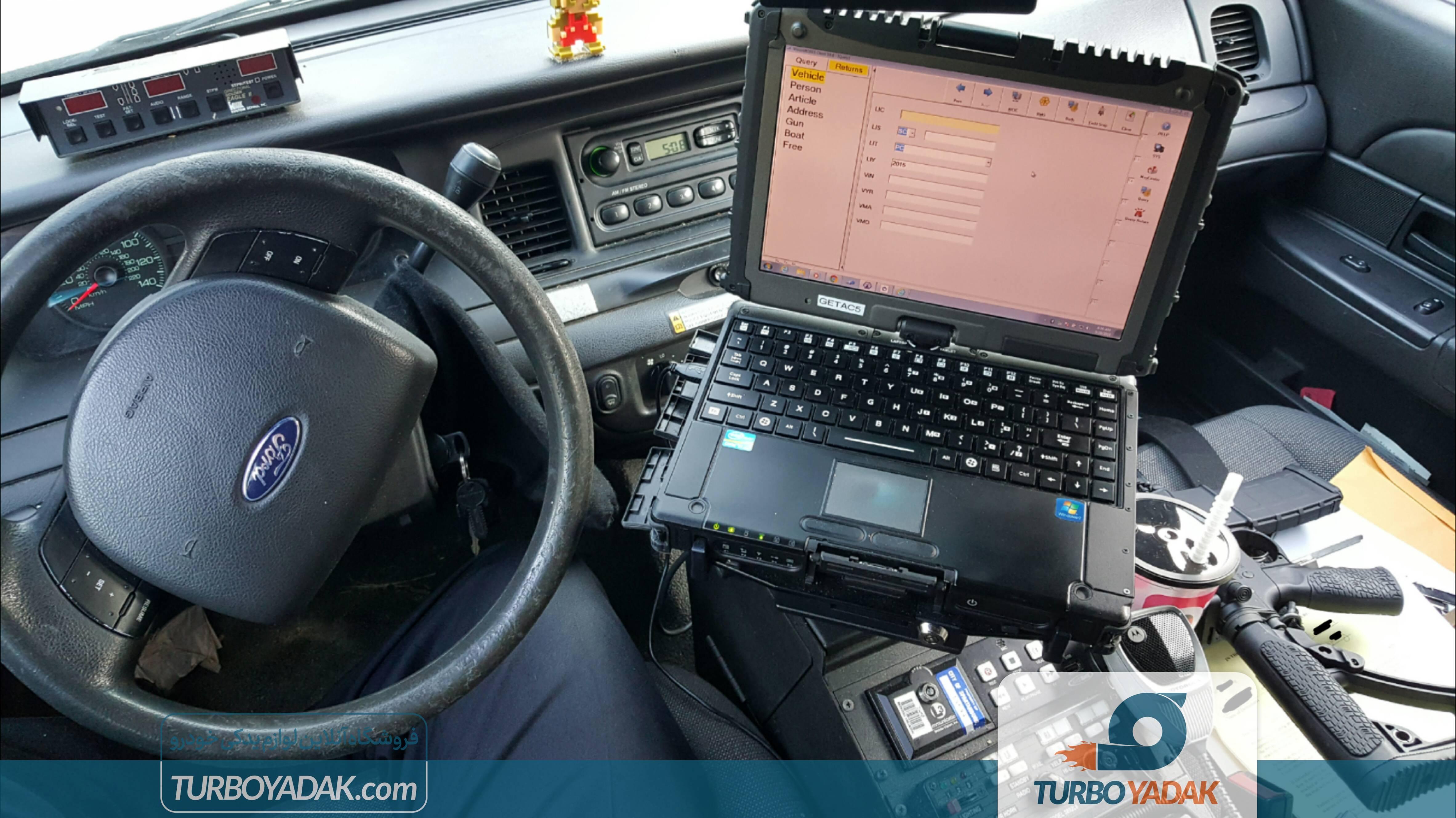 تجهیزات خودرو پلیس