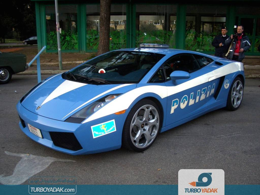 ماشین پلیس لامبورگینی