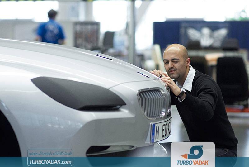 تست مواد اولیه مصرفی در ساخت خودرو