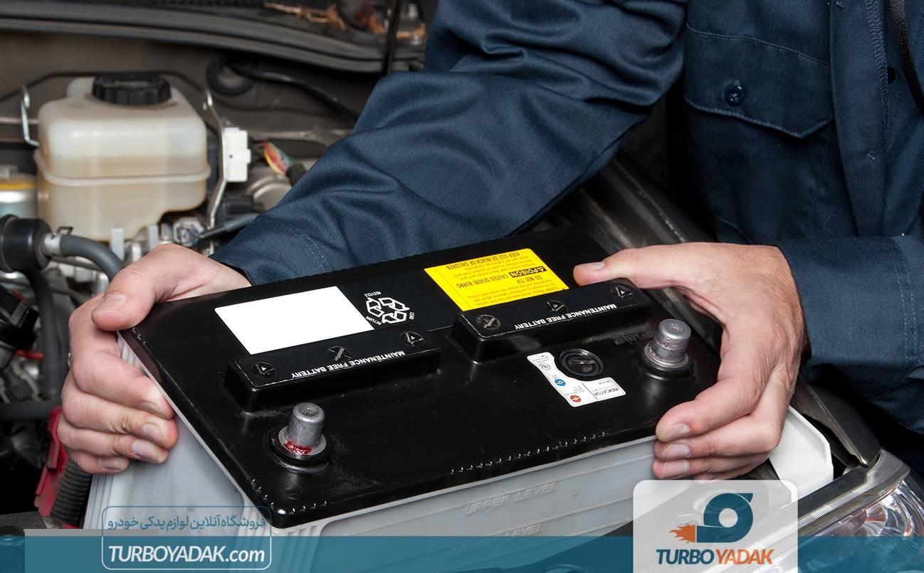 جاگذاری باتری در خودرو