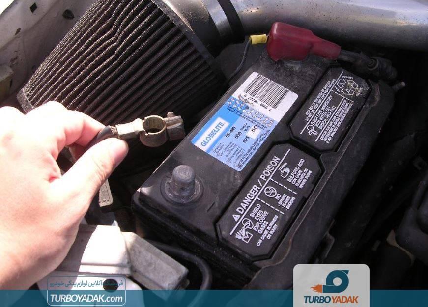 عوامل خرابی باتری دنا