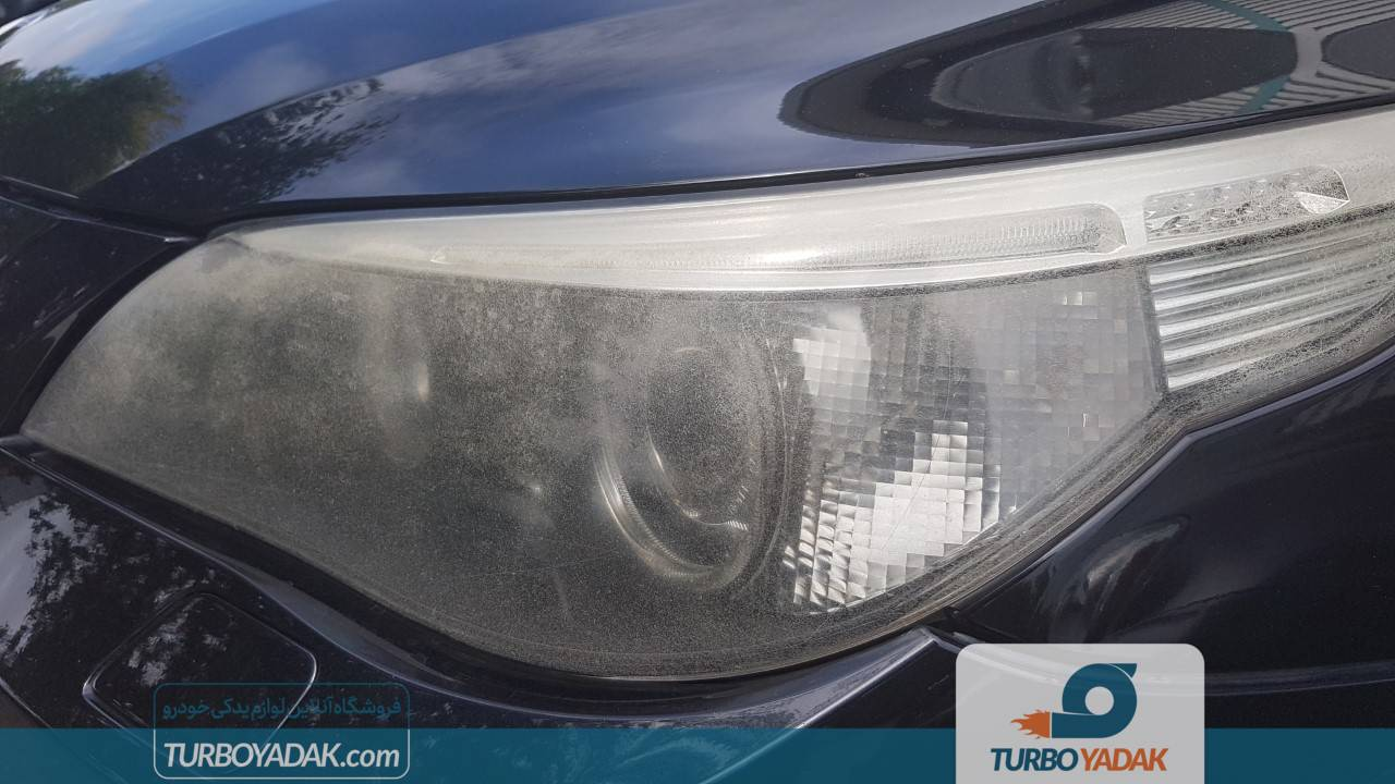 سنباده زنی چراغ خودرو