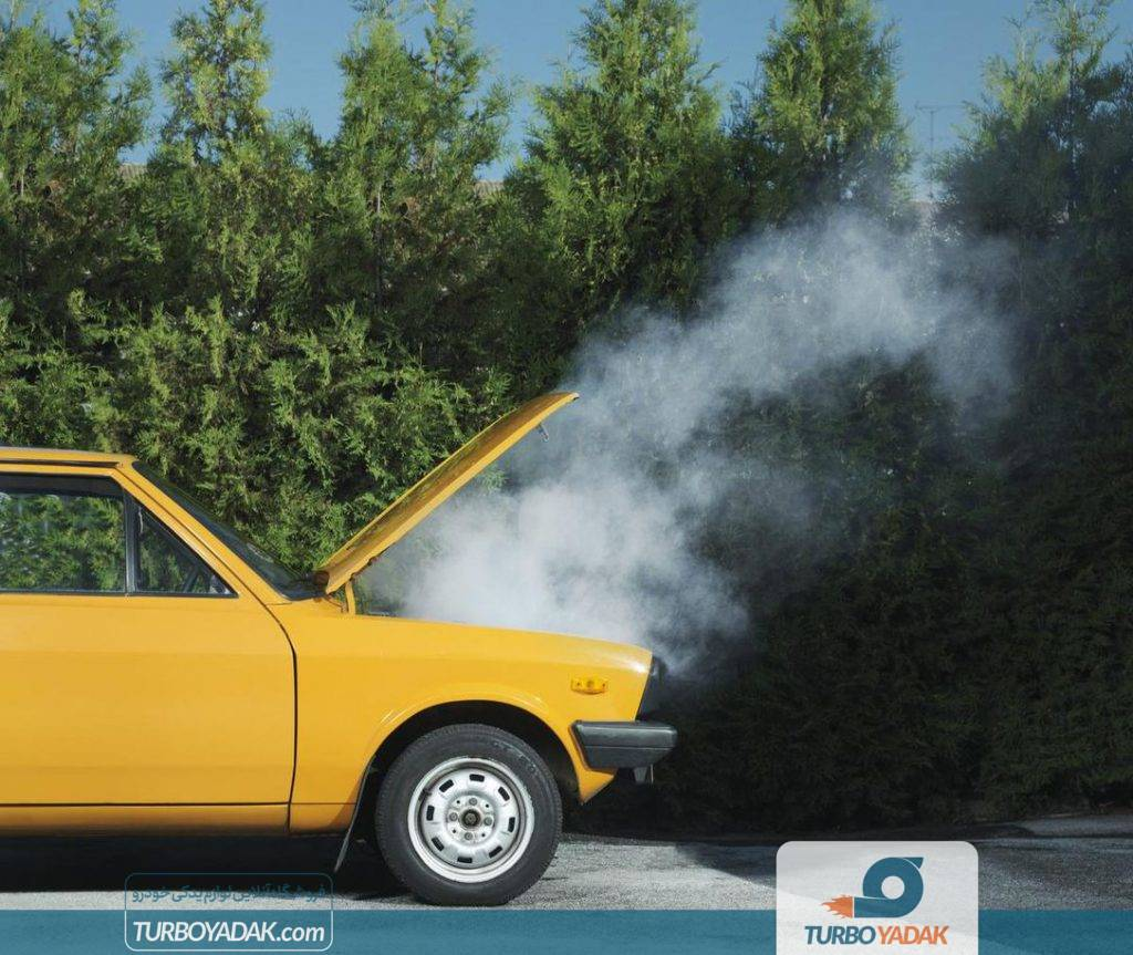 داغ شدن موتور خودرو