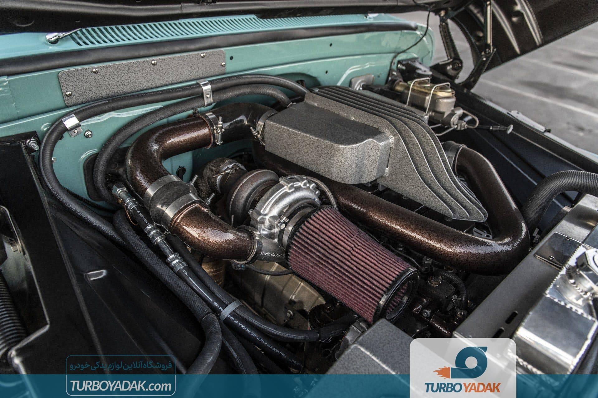 سیستم موتور شورولت پاندروسا