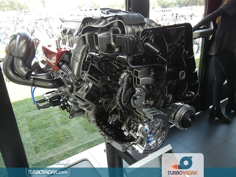 موتور برش خورده ی 6.2 لیتر LT2