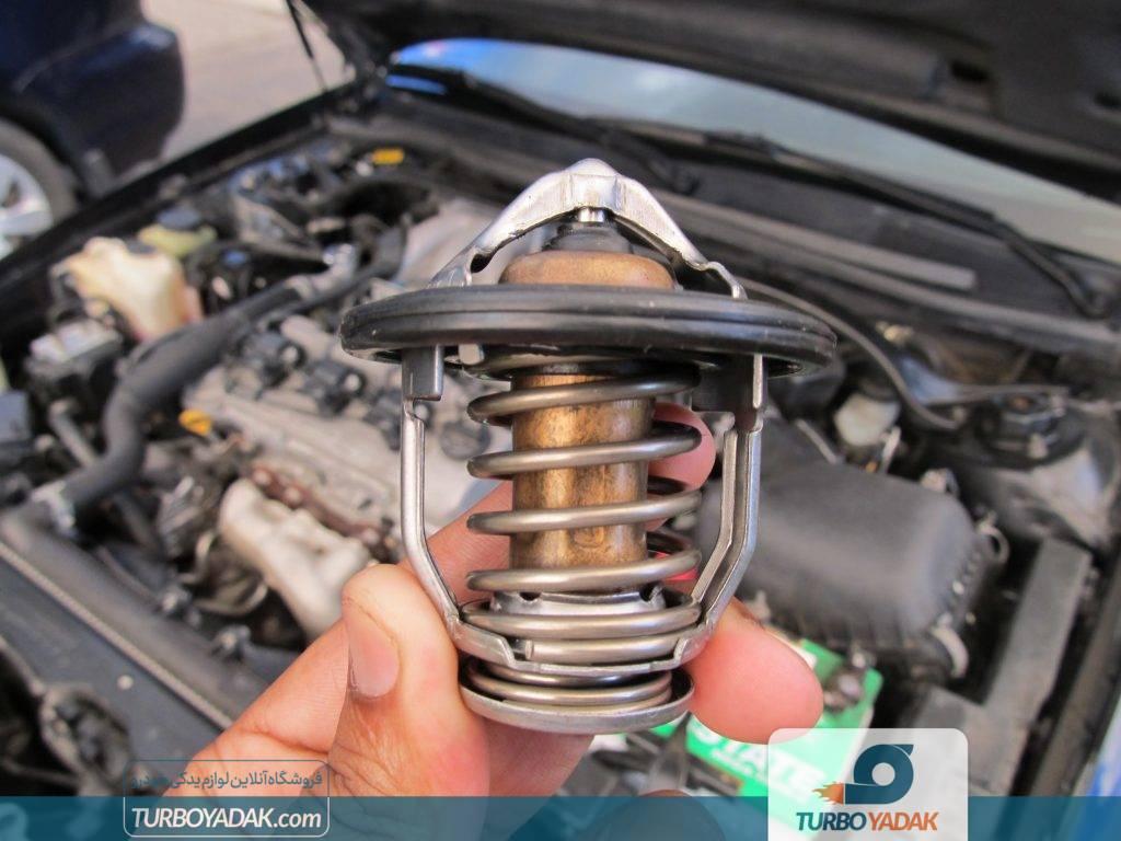 تنظیم دمای ترموستات و موتور