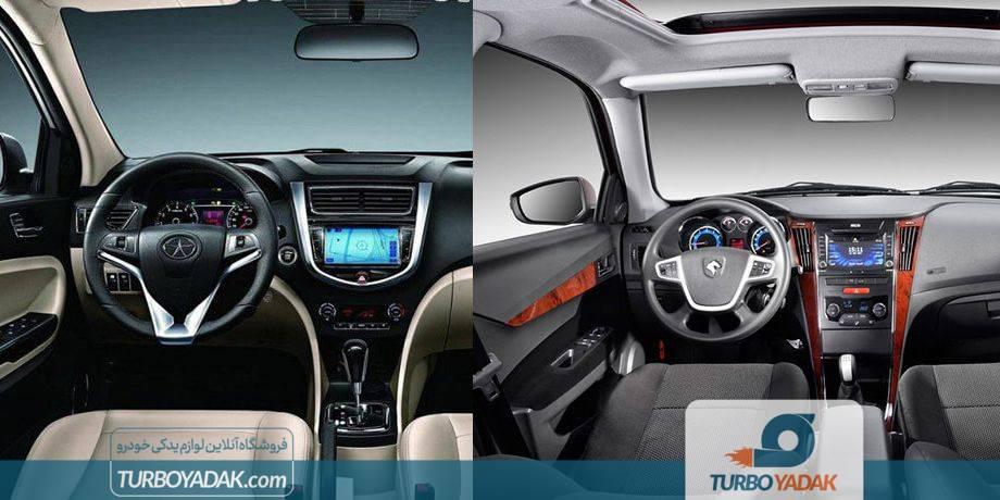 مقایسه دنیا پلاس توربو و جک J4 از نظر تجربه رانندگی