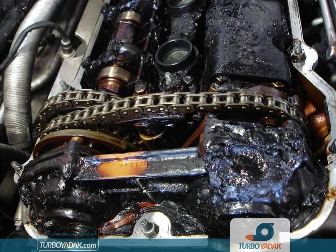 روغن کم کیفیت روغن موتور قیر شده